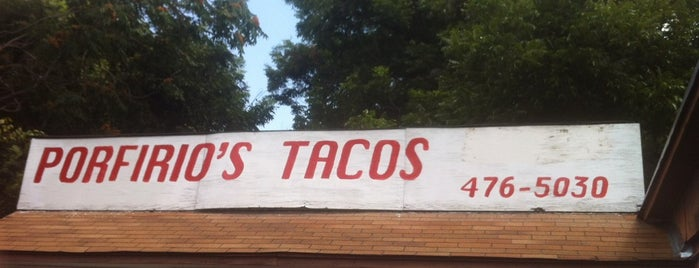 Porfirio's Tacos is one of Restaurants to try.