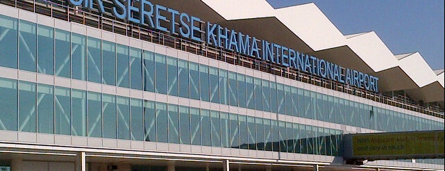Sir Seretse Khama International Airport (GBE) is one of Major Airports Around The World.