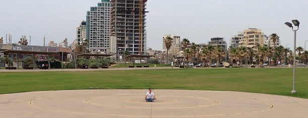 Charles Clore Park is one of Tel Aviv.