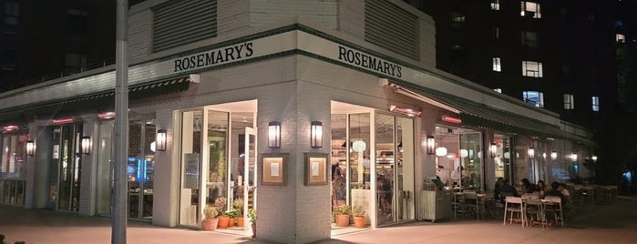 Rosemary's is one of Flatiron and Gramercy.