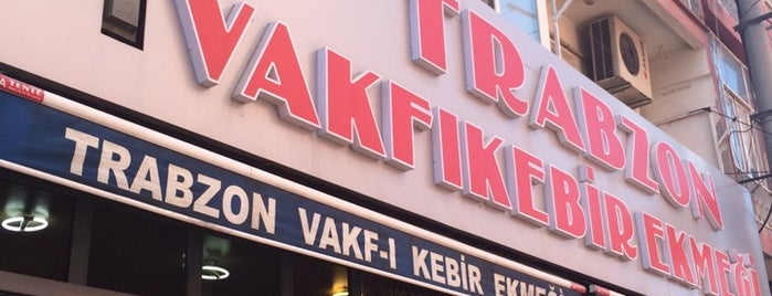 Trabzon Vakfıkebir Ekmegi is one of Lugares favoritos de MeSuT.
