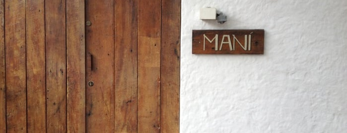 Maní is one of the world's best restaurants.