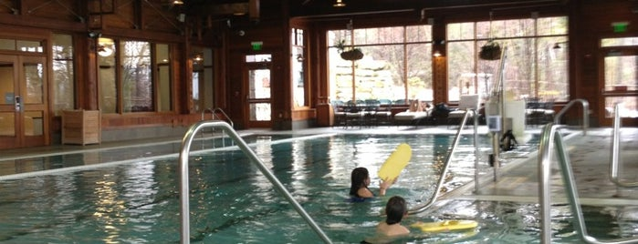 Spa at Mohonk Mountain House is one of Hudson Valley.