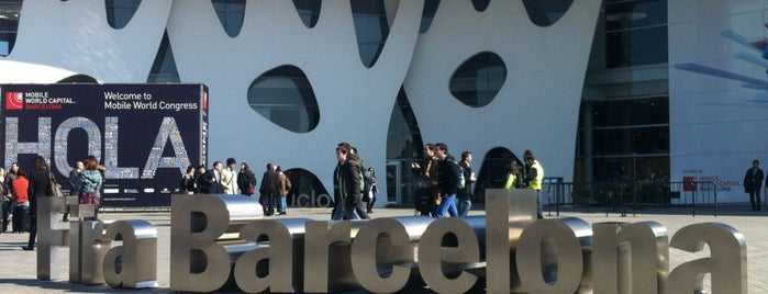 Fira Barcelona Gran Via is one of #mwc13.