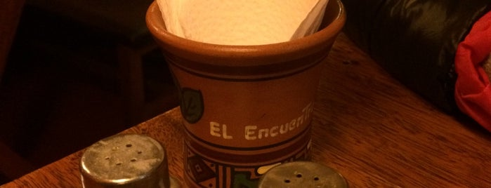 El encuentro is one of where to eat abroad.