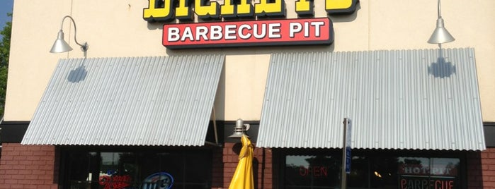 Dickey's Barbecue Pit is one of Food Worth Stopping For.