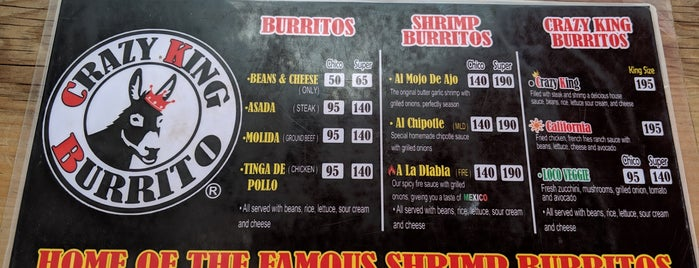 Crazy King Burrito is one of Posti che sono piaciuti a Yosh.
