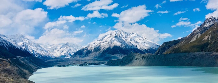 Tasman Glacier is one of Trudy's list.