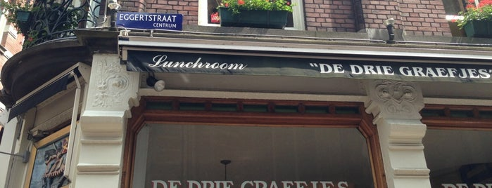 De Drie Graefjes is one of Brunch Amsterdam-to do.