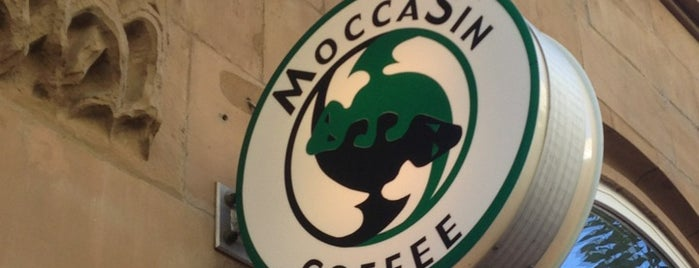 MoccaSin Coffee is one of Cafés.