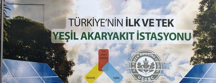 TOTAL-MEHMET ŞİRİN PETROL is one of สถานที่ที่ Esra ถูกใจ.