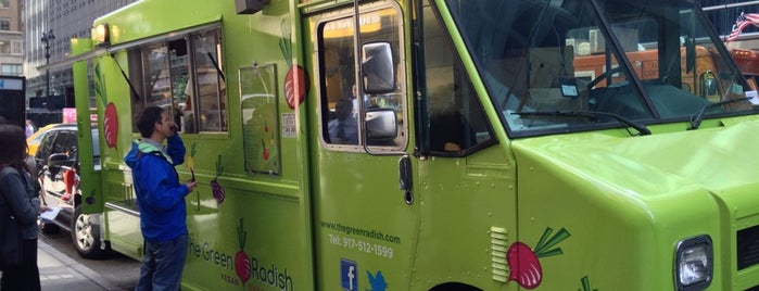 The Green Radish is one of NYC: Truck You, Foodies!.
