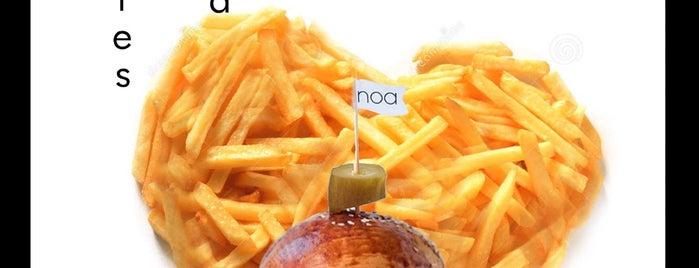 Noa Burger is one of Posti salvati di Sumru.
