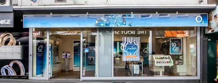 o2 Shop Darmstadt 01 is one of Mitgliedervorteile Frankfurt am Main.