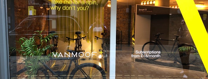 Vanmoof is one of Lugares favoritos de Sanjeev.