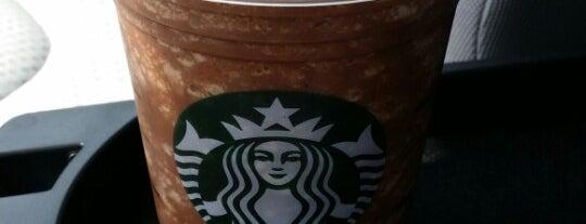 Starbucks is one of Daee' : понравившиеся места.
