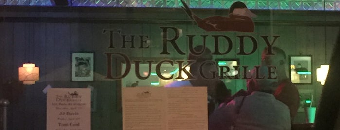 The Ruddy Duck Grille is one of Locais curtidos por Cicely.