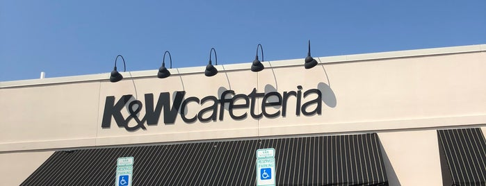 K&W Cafeteria is one of สถานที่ที่ Ronald ถูกใจ.