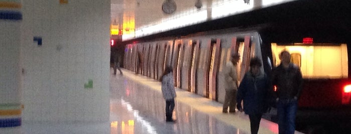 Koru Metro İstasyonu (M2) is one of Ankara.