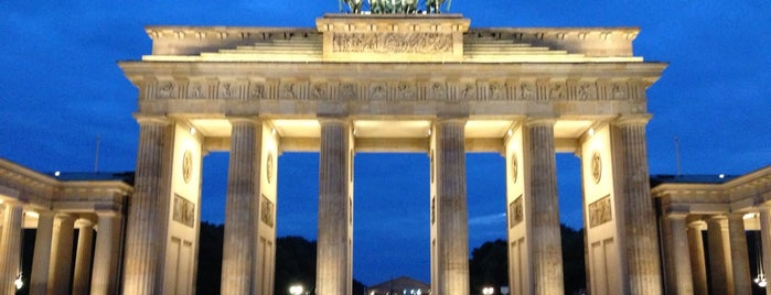 Brandenburger Tor is one of Berlin, Germany.