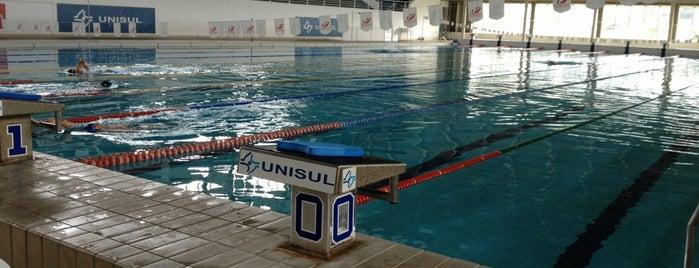 Complexo Aquatico Unisul is one of Lieux qui ont plu à Cristiane.