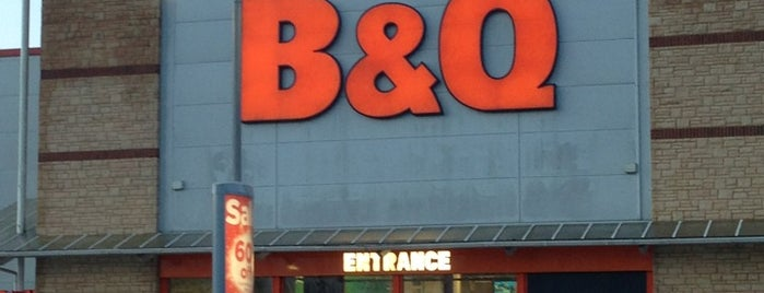B&Q is one of Lugares favoritos de Carl.