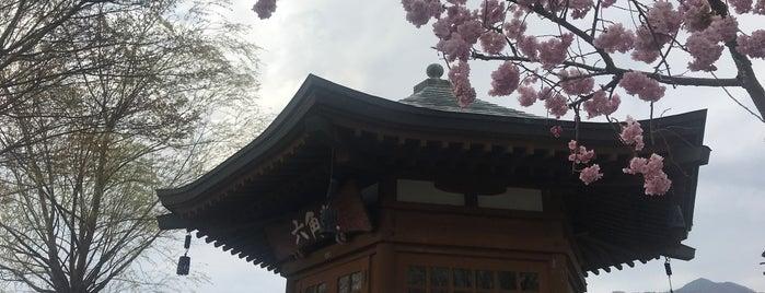 六角堂 is one of ほりぴー'ın Kaydettiği Mekanlar.