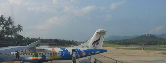 Samui International Airport (USM) is one of Part 1~International Airports....