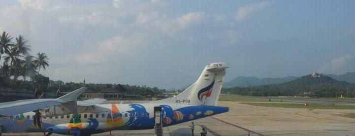 사무이 공항 (USM) is one of Part 1~International Airports....