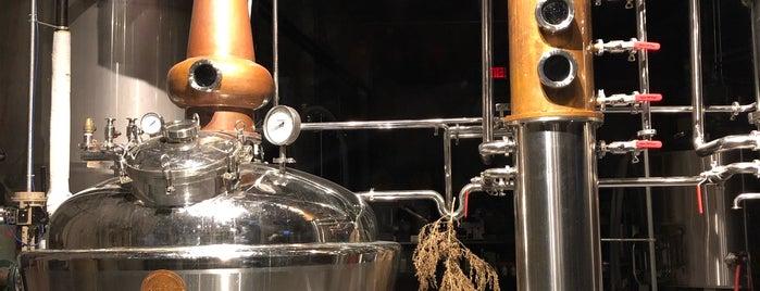 Deacon Giles Distillery is one of Salem.