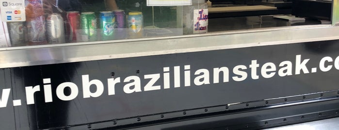 Rio Brazilian Steak Truck Drexel is one of Places to go to.