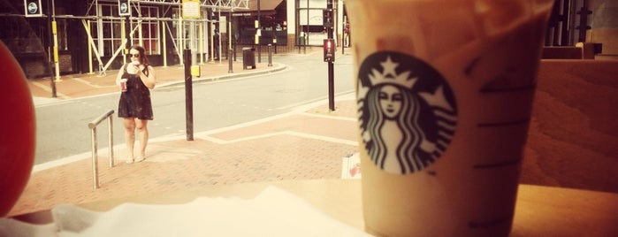Starbucks is one of Reading coffeeshops 🇬🇧.
