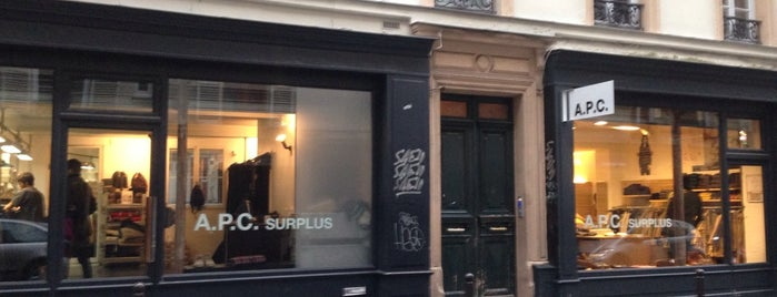 A.P.C. Surplus is one of Locais curtidos por Martin.