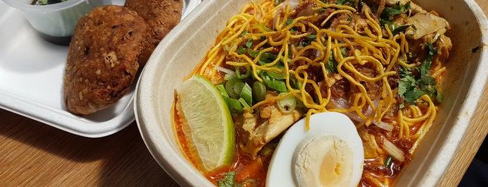 Lahpet Burmese Cuisine is one of Favorite London (Notion).