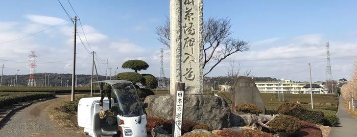 日本一の道標 北狭山茶場碑 is one of Creig: сохраненные места.
