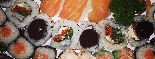 Anshin sushi bar is one of Bruno 님이 좋아한 장소.