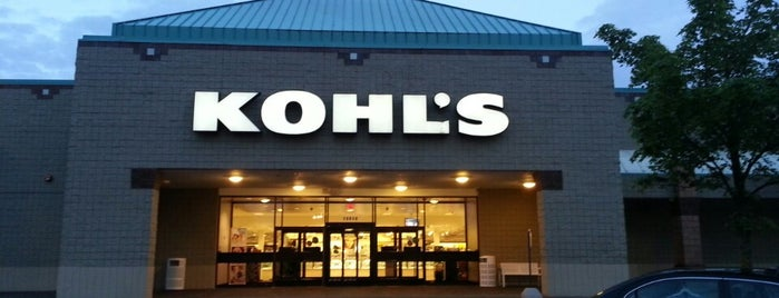 Kohl's is one of Lieux qui ont plu à Bekah.