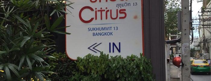 Citrus Sukhumvit 13 Bangkok is one of Bangkok To Do.