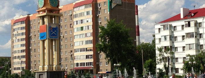 Podolsk is one of Города.