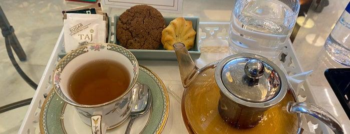 The Tea Lounge - Taj Palace Hotel is one of India 🇮🇳.