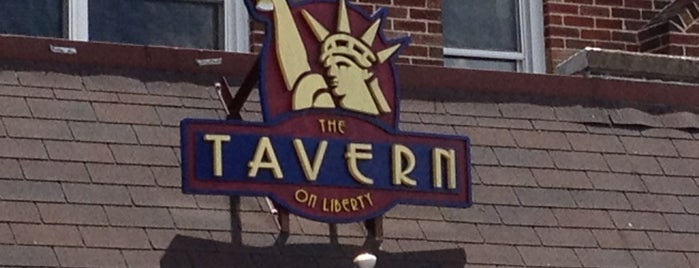 The Tavern On Liberty is one of Lugares guardados de Dustin.