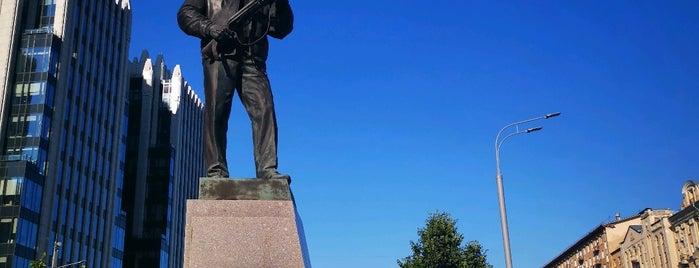 Памятник М. Т. Калашникову is one of Москва, где я была #2.