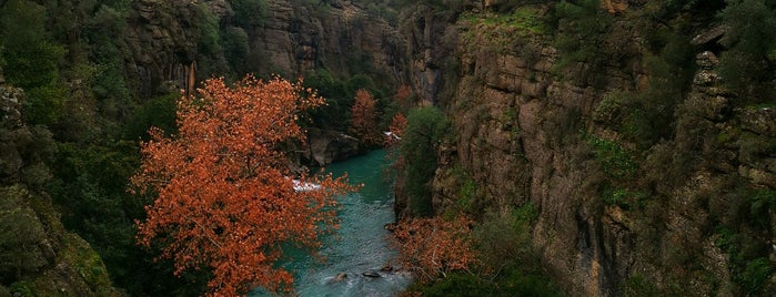 Köprülü Kanyon Rafting Kamp Doğa Alanı is one of Akdeniz Bolgesi.