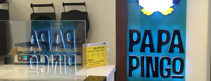 papa pingo is one of Dubai's must places.