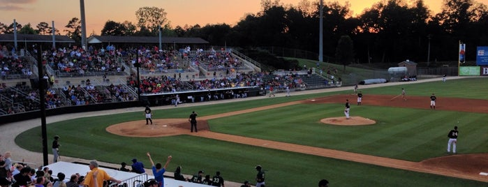 Intimidators Stadium is one of Minor League Ballparks.
