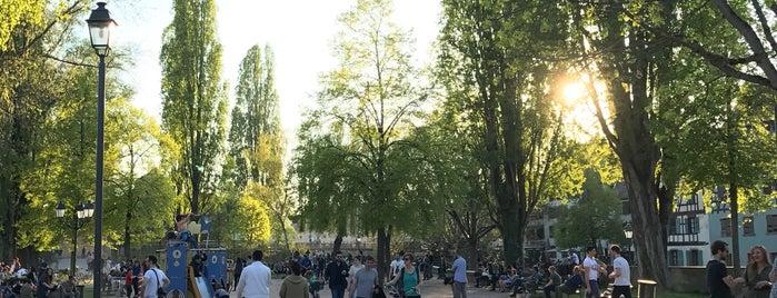 Lieux de détente à Strasbourg