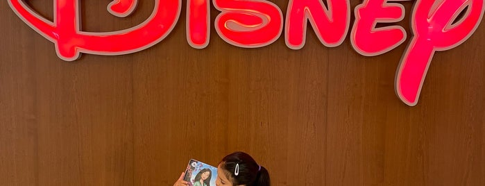 Disney store is one of Vancouver.