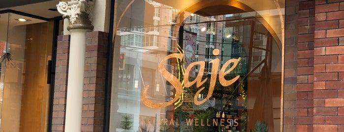 Saje Natural Wellness is one of Tempat yang Disukai Jack.