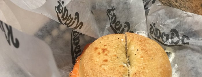 Kiva's Bagels is one of Top 10 Bagel Sandwiches.