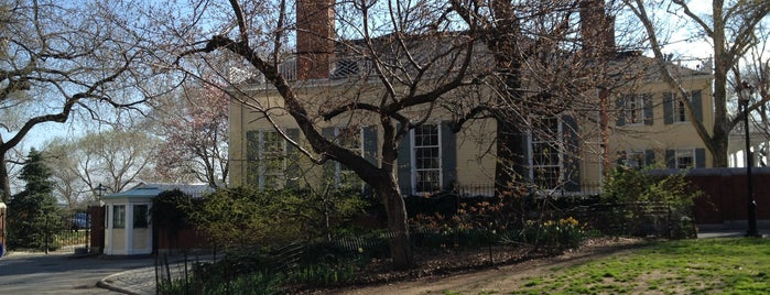 Gracie Mansion is one of Revolutionary War Trip.